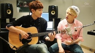 Henry 헨리_143 I Love You_Acoustic Version With Chan Yeol Of EXO