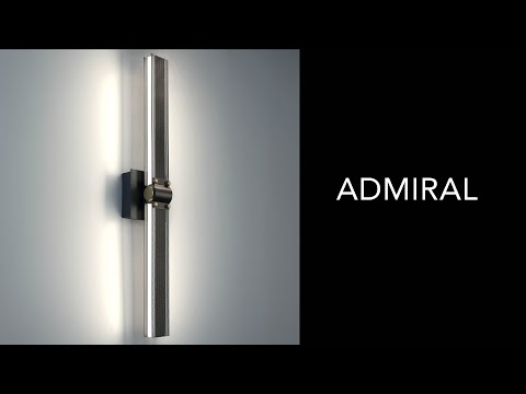 Video for Admiral Matte Black and Gold 29-Inch LED Chandelier