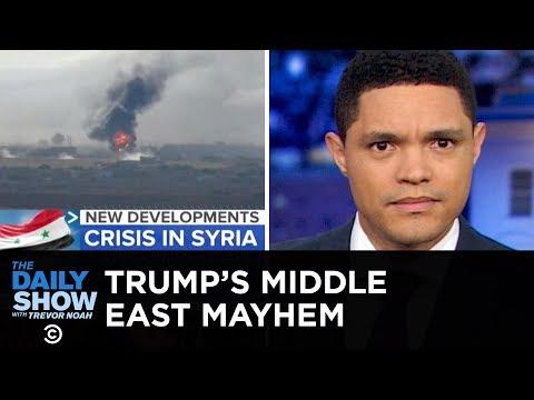 Trump's Mideast Move Creates Mayhem   The Daily Show