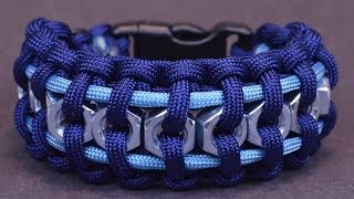 """How to Make the """"Hex Nut"""" Paracord Survival Bracelet - BoredParacord"""