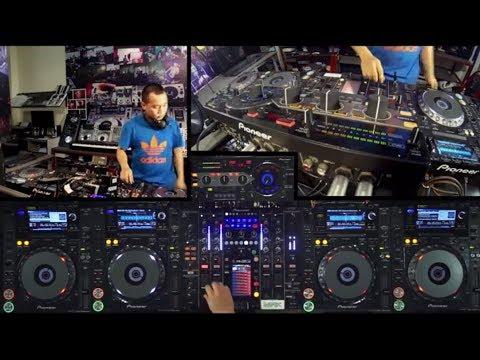 DJ đầu tiên ở Việt Nam chơi 4 CDJ và 1 Mixer
