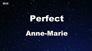 Perfect   Anne Marie Karaoke 【With Guide Melody】 Instrumental