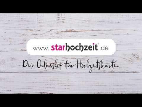 starhochzeit.de - Hochzeitseinladungskarten online gestalten