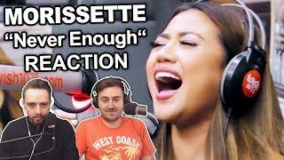 """Morissette - Never Enough (LIVE On Wish 107.5 Bus)"" Singers Reaction"