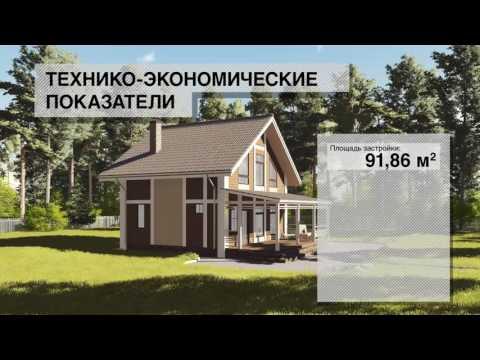 Строительство каркасного дома с открытой террасой по индивидуальному проекту, закончено!