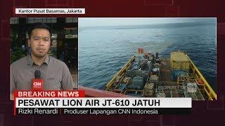 Bangkai Pesawat Lion Air Diperkirakan Berada di Kedalaman Laut 30 Meter