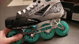 """Inline Skates zuhause """"backen"""".  Mission Inhaler FZ-0 Thermoforming. Inline Hockey Skates anpassen."""