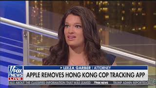 Fox & Friends First: Apple Removes Hong Kong Police Tracking App from China Market