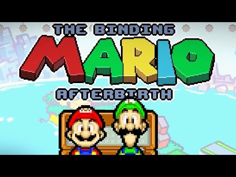 Мод - The Binding MARIO: Afterbirth