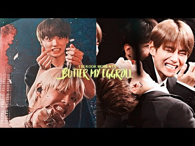 Taekook moments that butter my eggroll