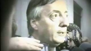 Nestor KIRCHNER + DE LA RUA + Rodriguez SAA 1999 / Camara Hugo Omar Viggiano