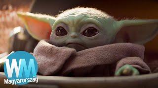 Top 10 Baby Yoda pillanat