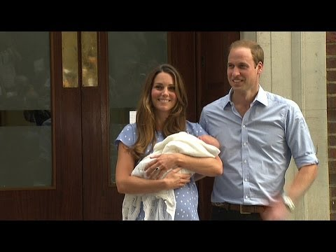 Reporting on Prince George's birth (2013)
