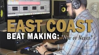 "Making a Sample East Coast Hip Hop Beat [2017] ""Now or Never"" (prod. by TCustomz) Akai MPD32, MPK49"