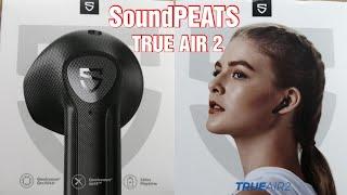 ✅ SoundPEATS True Air 2 | BT 5.2 - CVC 8.0 - 25h Spielzeit | 4 Mikrofone zum freisprechen | TEST DE