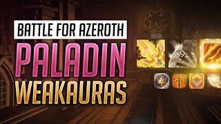 Paladin BFA WeakAuras 8.0.1 + Guide - Retribution, Protection and Holy