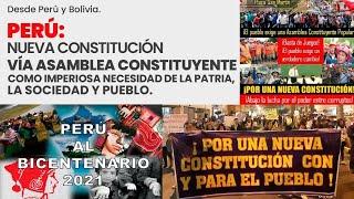 """EN VIVO, DEBATE """"CAMBIAR LA CONSTITUCIÓN POLÍTICA DEL PERÚ"""""""