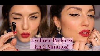 Eyeliner Perfecto En Dos Minutos Con Flash Cat Eye L´oreal Paris | AD | Dirty Closet