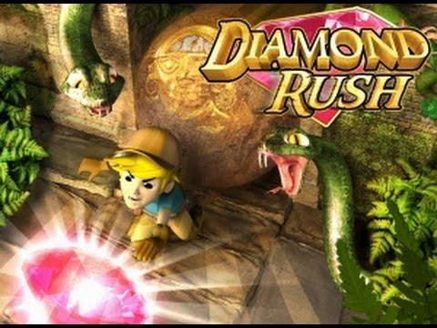 Полное прохождение игры на java Diamond Rush (angor wat)№1