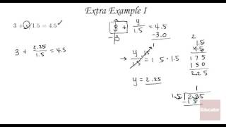 Algebra Tutorial Equations and Applications   Solving Two Step Equations