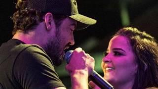 Assumidos! Casal Sertanejo Fernando E Maiara Trocam Beijos Em Show