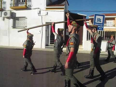 Disfraz legionario Carnaval Esparragalejo 2018