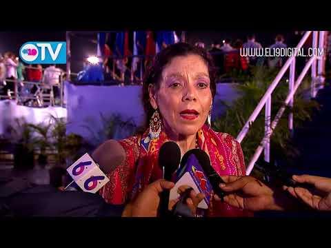Compañera Rosario Murillo resalta el orgullo por nuestro Ejército y Policía Nacional