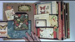 Pockety Pocket Mini Album - Page Construction Video