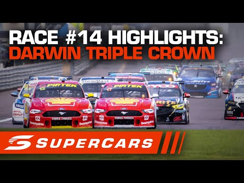 SUPERCARS BetEasy Darwin Triple Crown レース#15ハイライト動画