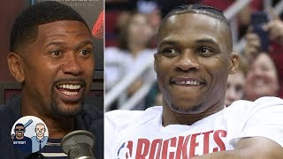 Westbrook will find a way to rack up points even if Harden gets hot - Jalen Rose | Jalen & Jacoby