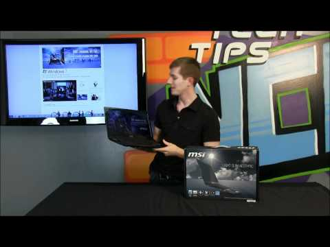 MSI X460DX Thin & Light Notebook Product Showcase NCIX Tech Tips