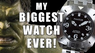INCREDIBLE HULK! Pantor Seal 500m Automatic Watch Review - Perth WAtch #155