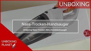 Nass-Trocken Akku-Handstaubsauger Silvercrest - Unboxing Planet