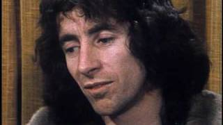 AC/DC's Bon Scott talking about Rush & Kiss