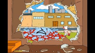Kool Aid Man is broken by Stewie and Brian