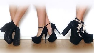 ♡ My Shoe Collection | UNIF Jeffrey Campbell NLY & More ♡