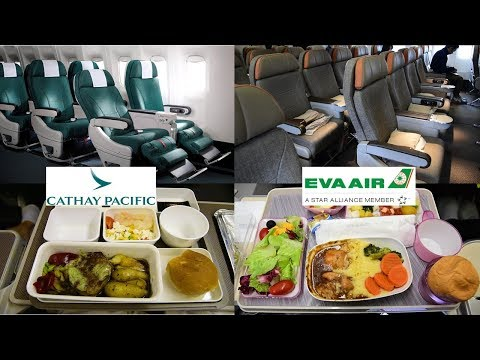 EVA Air vs. Cathay Pacific: Premium Economy 777 Experience