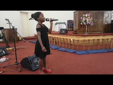 Britney Sadete - Oh Bvumai Ndifambe Nemi at the ZEAC UMC Has Got Talent 2019
