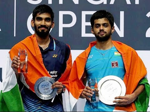 Sai Praneeth Stuns Kidambi Srikanth to Clinch Singapore Open Super Series Title