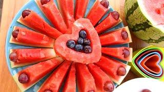 Art In Fruit Carving | Amazing Watermelon LifeHacks!