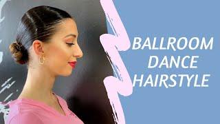 Basic Ballroom Dance Hairstyle