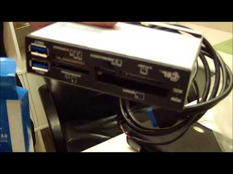 CSL  Card reader lettore di schede da 3,5  All in One USB 3 0