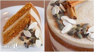 Moist Pumpkin Cake Recipe With Fresh Pumpkin!