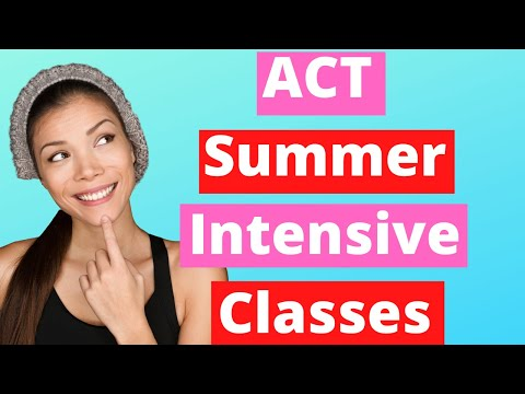 ACT Summer Intensive Classes - Ivy Bound Private & Online Tutoring