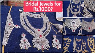 Bridal/Party Jewels At Affordable Price | Jewels For Rent And Sale | Sowcarpet Shopping Series #2