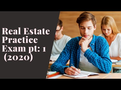 Real Estate Practice Exam Questions 1-50 (2020) - YouTube