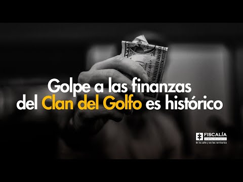 Fiscal Francisco Barbosa: Golpe a las finanzas del 'Clan del Golfo'