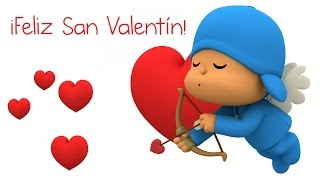 Feliz San Valentín con Pocoyó
