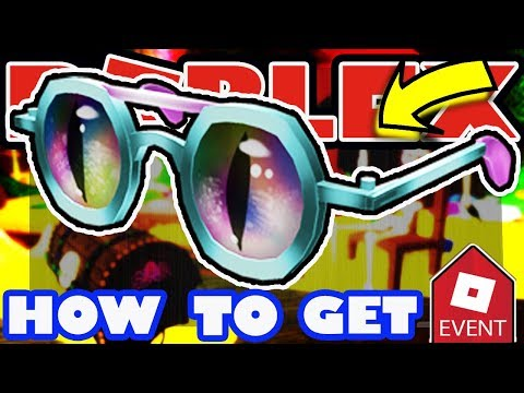 [EVENT] How To Get The Cat Eye Glasses - Roblox 2018 Halloween Event Tutorial