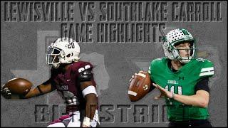 Lewisville vs Southlake Carroll - 2019 Texas High School Football Playoffs Week 1 Highlights